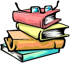 clipart image of books for research